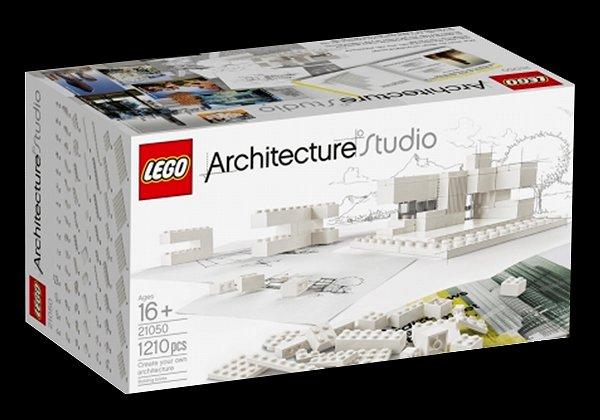 「LEGO Architecture Studio」には、1200点のパーツが収められており、建物に必要な素材、レンガやプレート風のブロックなどが入っています。また、ブロックとは別に